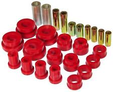 Prothane Front Upper & Lower Control Arm Kit For Nissan 350Z / Infinti G35 (Red)