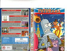Futurama:Vol 2-1999/2013-TV Series USA-4 Episodes-DVD