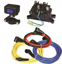 NEW HEAVY DUTY REPLACEMENT ATV WINCH WIRING KIT SWITCH SOLENOID CABLES