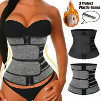 Women Waist Corset Trainer Sauna Sweat Yoga Weight Loss Body Shaper Trimmer Belt