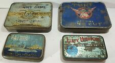 4 AUSTRALIAN Tobacco tins POSTAGE ONLY $2 ea! SUNNY GIRL Turf PATROL Lucy Hinton