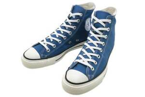 【DHL】New Converse Canvas All Star J HI Light Navy MADE IN JAPAN Limited 31303890