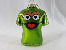 Oscar the Grouch Sesame Street  Kurt Adler Christmas ornament
