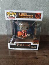 Funko Pop Sam with Pumpkin & Sack 1002 Trick 'R Treat Spirit Halloween Exclusive