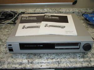 JVC SR-S360U Rare S-VHS SVHS Pro Editing VCR