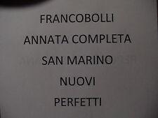 SAN MARINO COLLEZIONE 1962 2001 SU FOGLI MARINI KING FRANCOBOLLI NUOVI INTEGRI