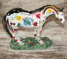 TRAIL PAINTED PONIES Children's Prayer Pony 1E/7388~Display Excellent Condition~