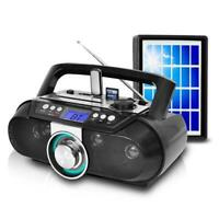New Technical Pro Rechargeable Bluetooth Solar Powered Portable Speaker with USB