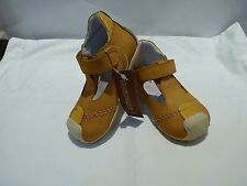 GARVALIN BIOMECANICS BABY LEATHER SHOES NEW MADE IN SPAIN SIZE 21