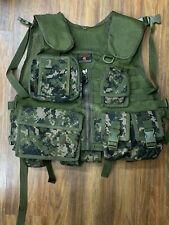 Tippmann Tacticalwear Special ops Woodland Camo Vest Rare - Vintage, Size M, New