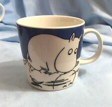 Arabia Finland Moomin Character Mug Muumipeikko / Moomintroll On Ice 1999-2012
