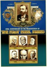 MODERN GEMS - Maldives - Nobel Prize - Sheet Of 6 - MNH