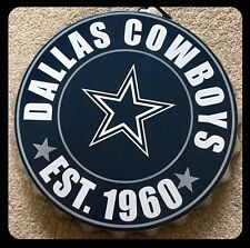 "Dallas Cowboys NFL Logo Bottle Top 13.5"" da appendere Wall Art Decoration"
