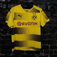 Aubameyang Borussia Dortmund BVB Jersey Home shirt 2017-2018 Puma Size Young XL