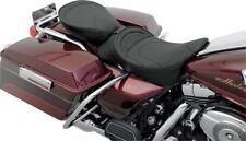 Leather Mild Stitch Rear Passenger Seat Pillion P Pad 1997-2007 Harley Touring