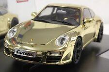 """Carrera Digital 132 30671 Porsche 911 """"Gold"""" 1/32 Slot Car *Rare*"""