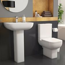 Options 600 Toilet & Basin Cloakroom Suite.