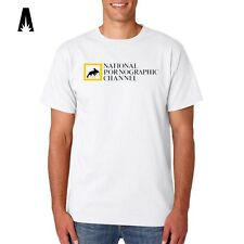 R 0153 NATIONAL PORNOGRAPHIC Porn Sex Geographic Animals T-shirt Tee Funny Top