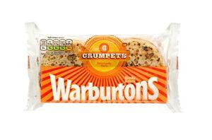 Warburtons Crumpets (4x6 Crumpets)