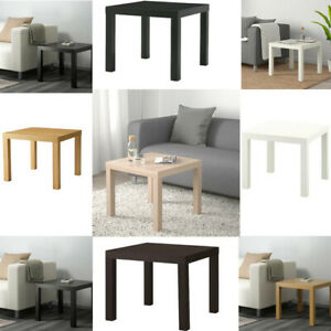 Ikea LACK Side Table Coffee Display Square Table Small Home Office Stylish 55x55