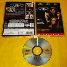CASINO' - (Robert De Niro Sharon Stone) di Scorse - Dvd Jewel Box Casinò ○ USATO