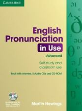 English Pronunciation In Use Advanced Book With Answers, 5 Audio Cds And Cd-R...