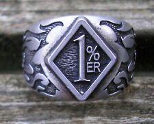 German Ring, Rocker, Biker, Rocker Ring 1% ER 1 percent   (16)