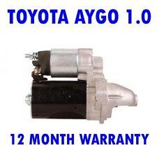 Toyota aygo 1.0 hatchback 2005 2006 2007 2008 2009 - 2015 starter motor