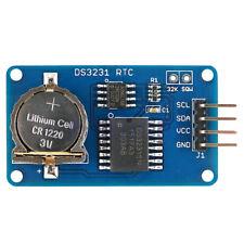 DS3231 EEPROM AT24C02 I2C Uhr Präzision Echtzeit Speicher Modul Für Arduino BL