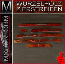 MERCEDES SL W107 R107 560SL 280SL 300SL WURZELHOLZ Armaturenbrett WOOD KIT Holz