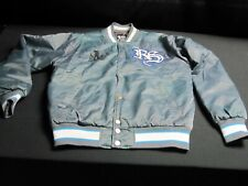 RYAN SHECKLER Satin Blue Jacket Medium HTF ~ 6430