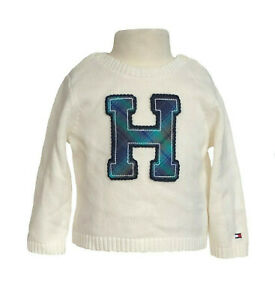 Tommy Hilfiger Children Girls Long Sleeve Crew-Neck Pullover Sweater - $0 Ship