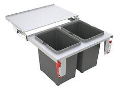 FRANKE Sorter Garbo 60-2 Abfalltrennsystem / 2 x 18 l Behälter / 121.0284.027