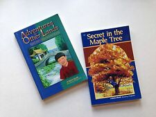 Abeka Grades 3/4 Readers Secret In The Maple Tree/Adv. in Other Lands VGUC!!!
