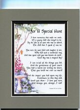 A 60th 70th 80th Birthday Gift Present Poem for a Special Aunt, #67