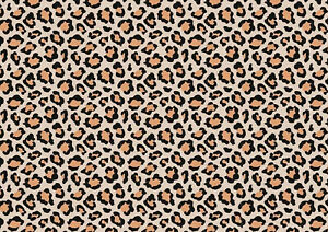 A4 Leopard Cheetah Animal Pattern Icing / Wafer Paper Edible Print Cake Wrap