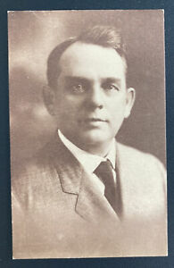 1920s Galesburg IL USA RepUblican Congress Nomination Postcard Cover Edward Ding