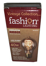 Vintage Collection Fashion Lighting 40W Charleston Amber Medium Base Edison Bulb
