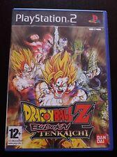 Dragon Ball Z Budokai Tenkaichi PS2 Empty Box