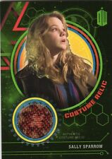 Doctor Who Topps Extraterrestrial Encounters Green costume card Sally Sparrow