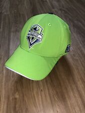 Adidas Seattle Sounders Fitted Hat Large/XL Green