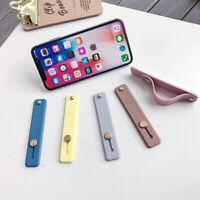 Silicone Finger Grip Ring Stand Holder Bracket for Mobile Phone Tablet;
