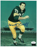 PACKERS Forrest Gregg signed photo 8x10 JSA COA AUTO Autographed Green Bay HOFer