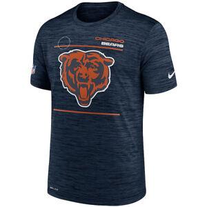 Brand New 2021 Chicago Bears Nike Sideline Velocity Legend Space Dye T-Shirt
