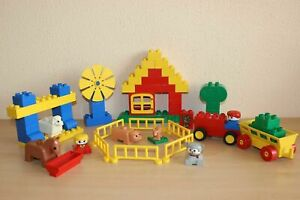Lego Duplo Town Vintage Set Like 2392-1 Farmyard