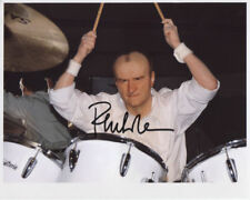 Phil Collins Signed 8 x 10 Photo Genuine In Person