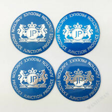 4X JP Junction Produce Car Wheel Center Hub Caps Badge Emblem Decal Sticker 56mm