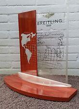 BREITLING vintage BIG DEALERDISPLAY 100% original DEALER wooden WORLD display
