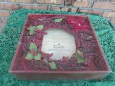 Waterford Holiday Heirlooms Red Pepper Berry Wreath Original Box
