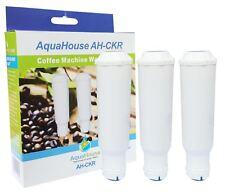 3x Water Filter fits Bosch Neff Siemens AEG Gaggenau Krups Espresso Coffee Maker